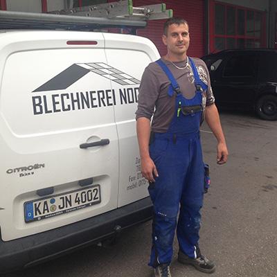 Andreas Höger, Blechnerei Nock Ettlingen