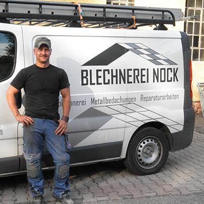 Dominik Wahl, Blechnerei Nock Ettlingen