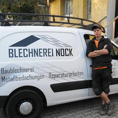 Sven Herr, Blechnerei Nock Ettlingen