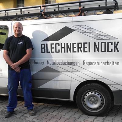 Tobias Zick, Blechnerei Nock Ettlingen
