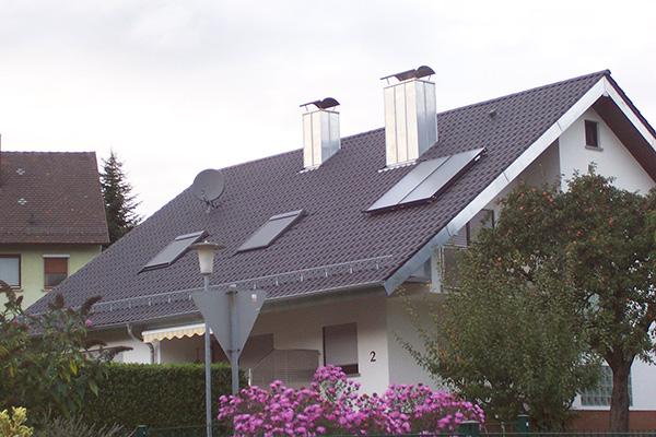 Trauf- und Ortgangverkleidungen, Blechnerei Nock Ettlingen 05