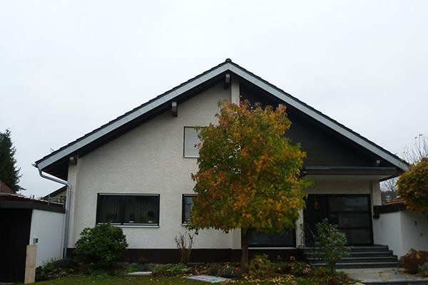 Trauf- und Ortgangverkleidungen, Blechnerei Nock Ettlingen 02