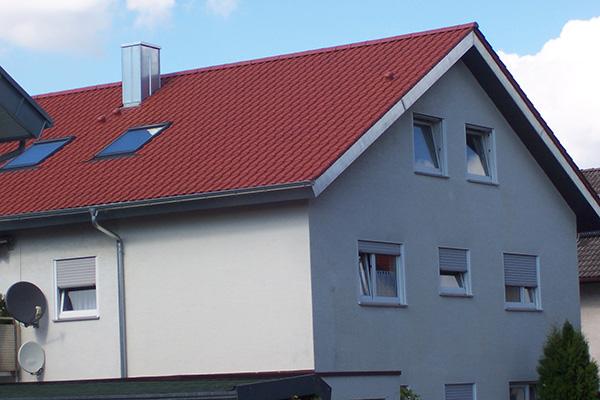 Trauf- und Ortgangverkleidungen, Blechnerei Nock Ettlingen 01